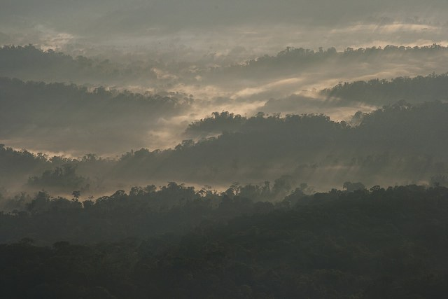 Sunrise over Cordillera National Park, Peru. Source: Toni Fish (Flickr).