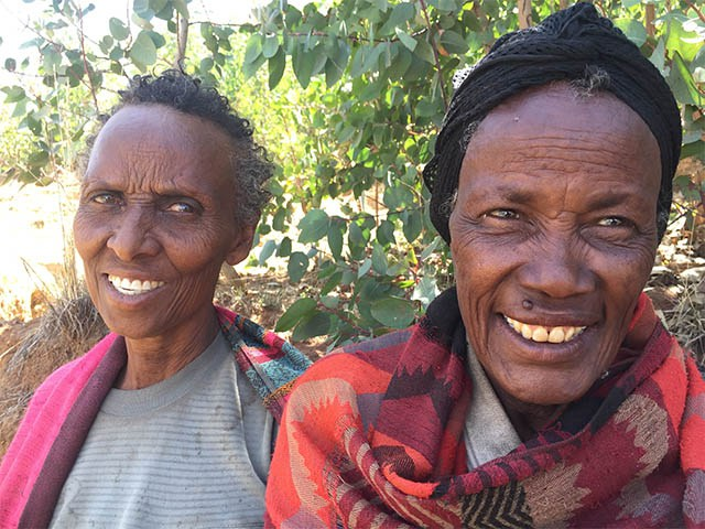 Two women in Sidama Zone, Ethiopia. Alan Nicol